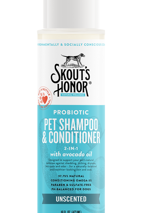 Probiotic Pet Shampoo & Conditioner 2 in 1