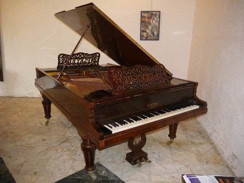 Piano double de Béatrice de Camondo et Léon Reinach, son époux
