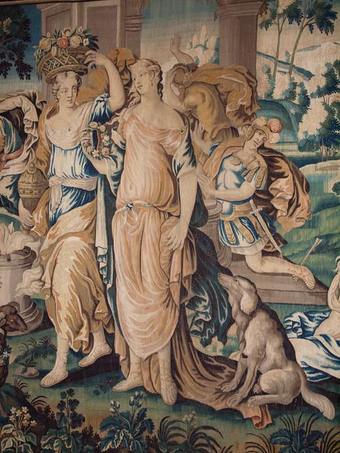 Tenture de l'histoire d'Achille, 1670-1680