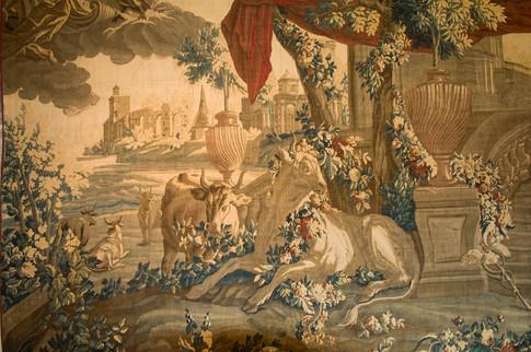 Io transformée en génisse, Aubusson, milieu XVIIIe