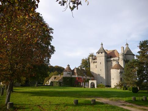 Château de Villemonteix Façade Est