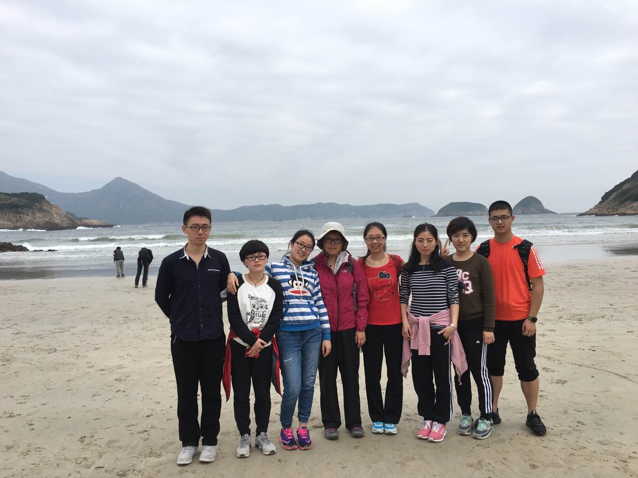 Hiking at Sai Wan
