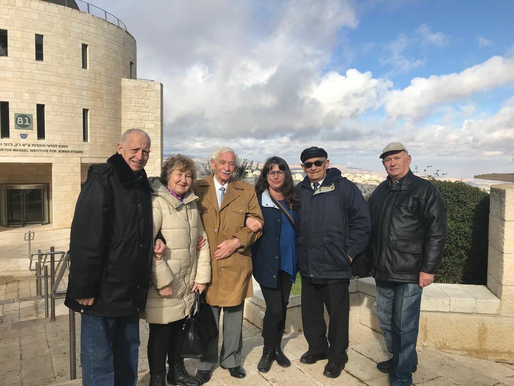 Outing Mount Scopus