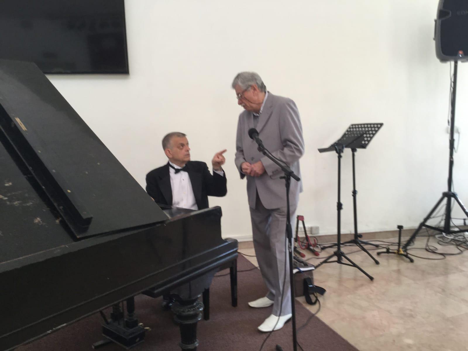 Piano Concert f Holocaust Survivor