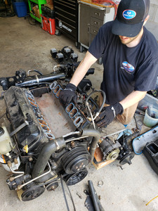 Engine Replacement-Inspection