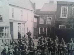 WW1 market place.