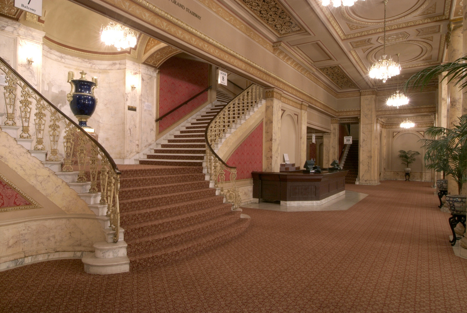 Palace Theatre Upper Lobby