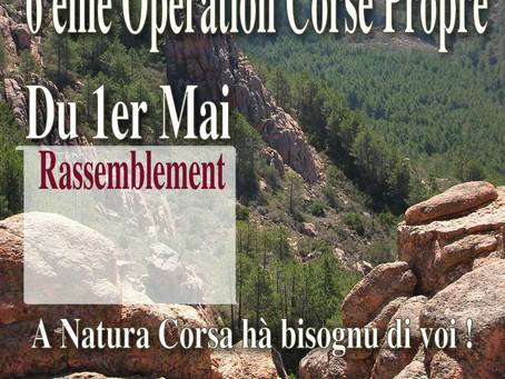 Opération Corse Propre du 1er Mai