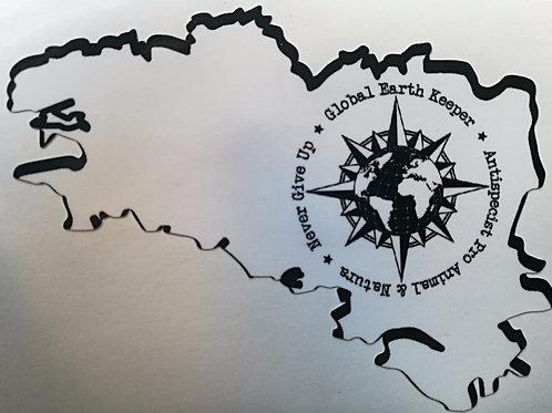 Sticker délégation bretonne