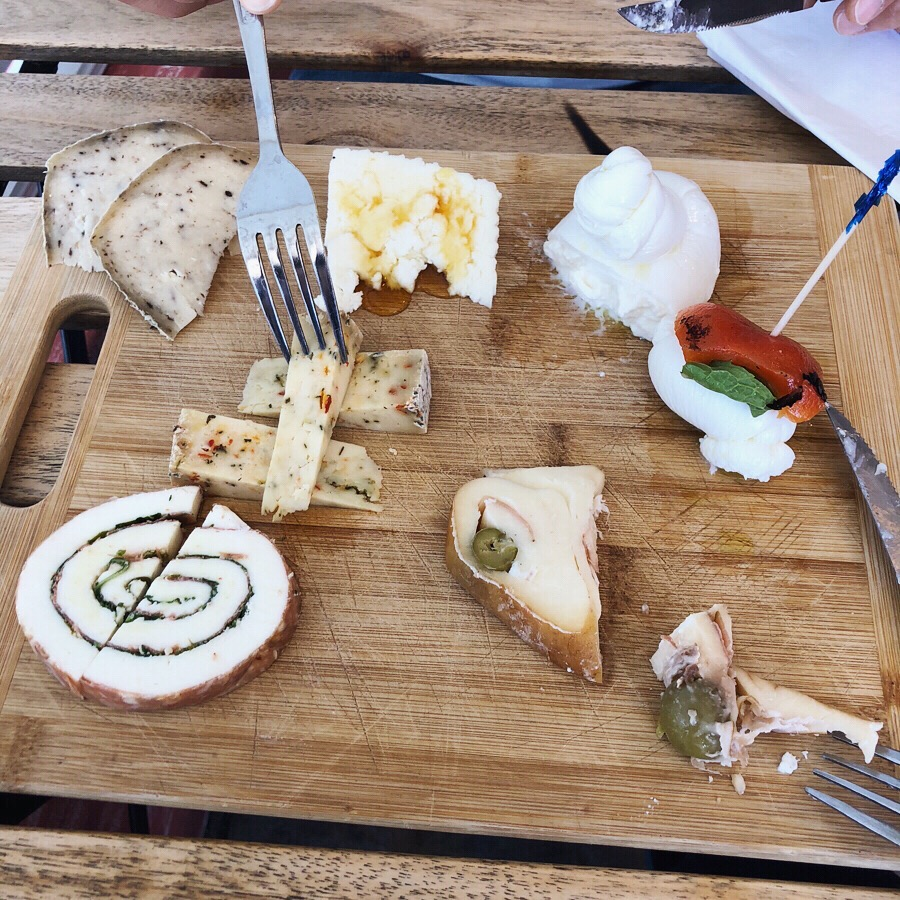 variety of cheeses by Mimmo's Mozzarella