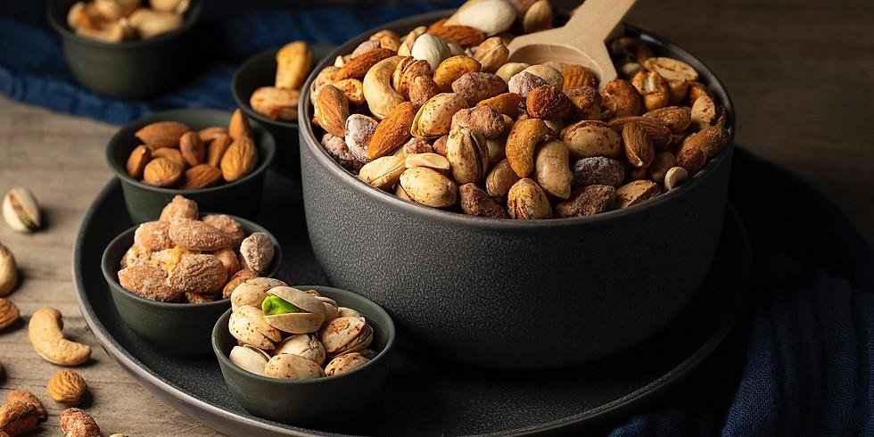 Crystal Nuts Tasting