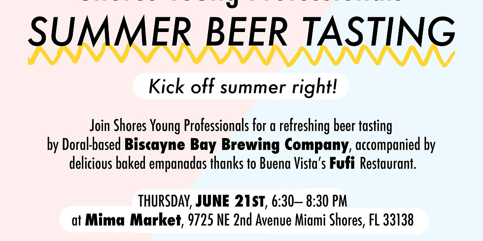 Shores Young Professional Summer Beer Tasting