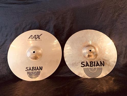"""Sabian AAX 14"""" X-Celerator Hi-Hats"""