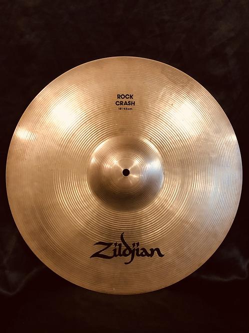 """Zildjian Avedis 18"""" Rock Crash Brilliant Finish"""