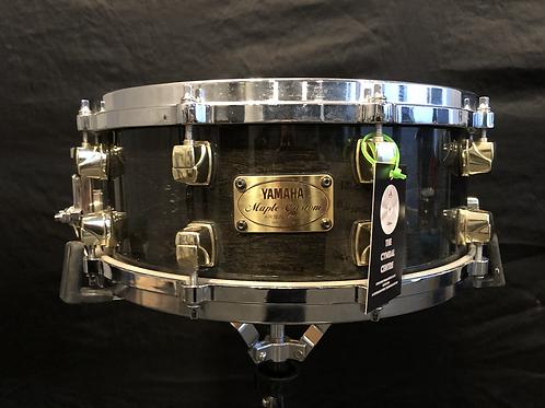 Yamaha Maple Custom Black Mist 14 x 5.5 Snare