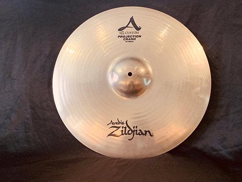 "Zildjian A Custom 19"" Projection Crash"