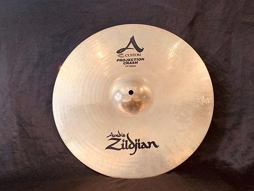"Zildjian A Custom 17"" Projection Crash"