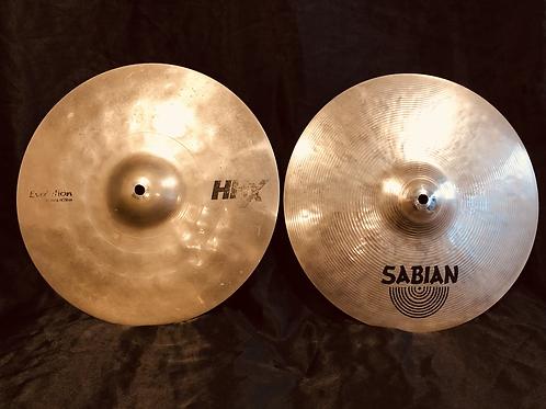 "Sabian HHX 14"" Evolution Hi-Hats"