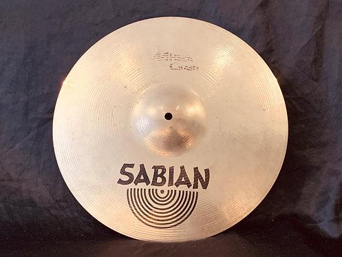 "Sabian AA 16"" Rock Crash Brilliant Finish"