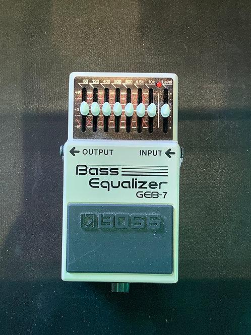 Boss GEB-7 Bass Equaliser