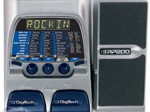 Digitech RP200 Multi FX