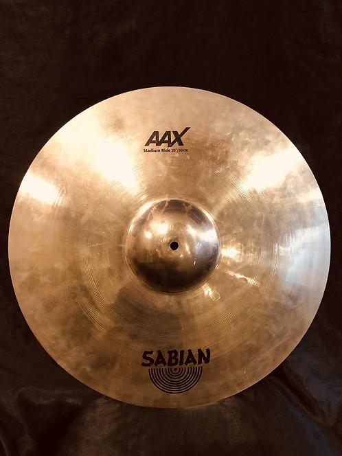 """Sabian AAX 20"""" Stadium Ride"""