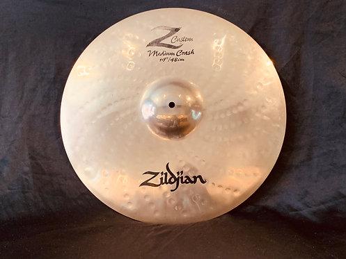 """Zildjian Z Custom 19"""" Medium Crash"""