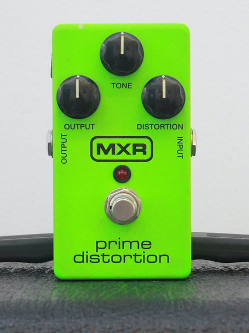 MXR Prime Distortion Limited Edition Green
