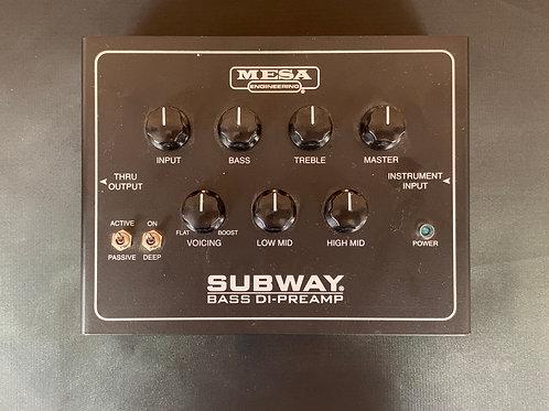 Mesa Subway Bass Di-Preamp