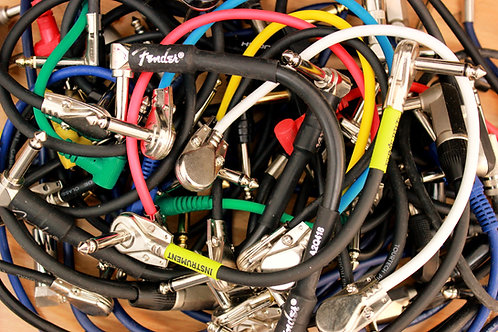 Assorted Used Patch Cables