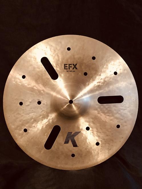 """Zildjian K 18"""" EFX Regular"""
