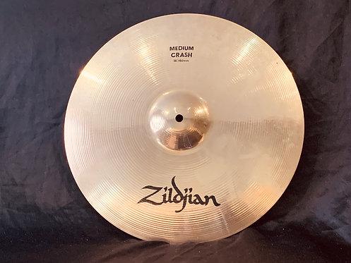 """Zildjian Avedis 16"""" Medium Crash Brilliant Finish"""