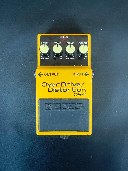 Boss OS-2 Overdrive/ Distortion