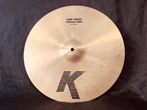 """Zildjian K 16"""" Medium Thin Dark Crash"""