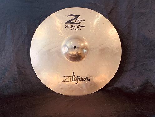 """Zildjian Z Custom 18"""" Medium Crash"""