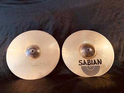 """Sabian AA 14"""" Metal-X Hats"""