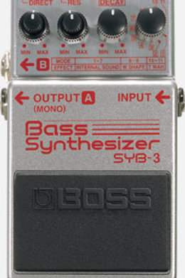 Boss SYB-3 Bass Synthesizer