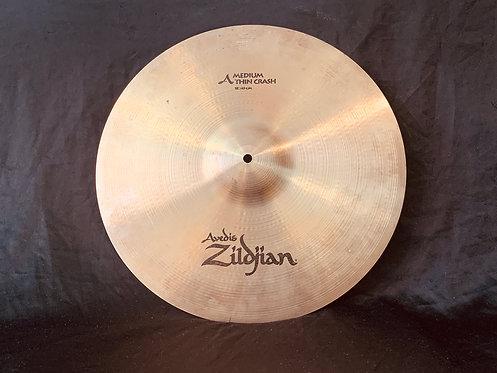 """Zildjian Avedis 18"""" Medium Thin Crash"""