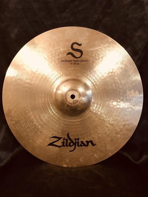 "Zildjian S series 16"" Medium Thin Crash"