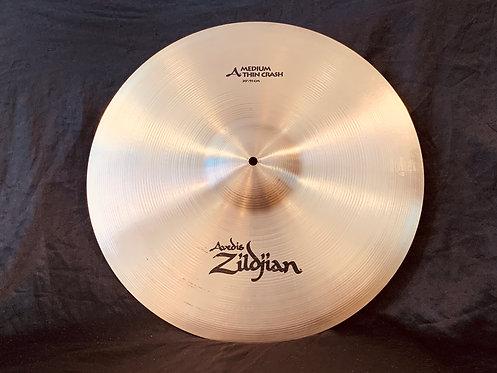 """Zildjian Avedis Medium Thin 20"""" Crash Regular Finish"""