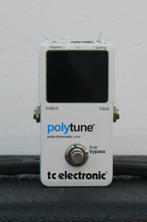 Tc Electronic Polytune Poly-Chromatic Tuner