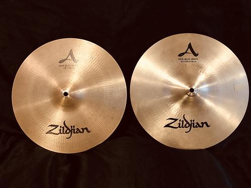 "Zildjian Avedis 14"" New Beat Hi-Hats Regular Finish"