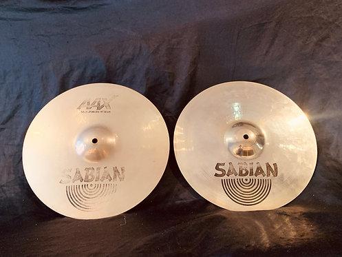 """Sabian AAX 14"""" Metal Hats"""