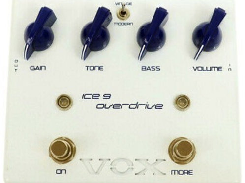 VOX Ice 9 Joe Satriani Overdrive