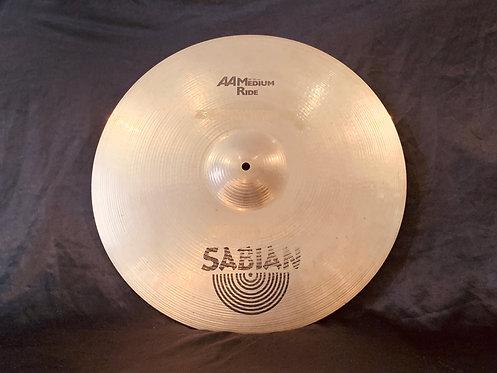 """Sabian AA 20"""" Medium Ride"""