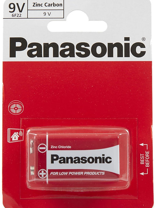 Panasonic 9v Zinc Carbon Battery