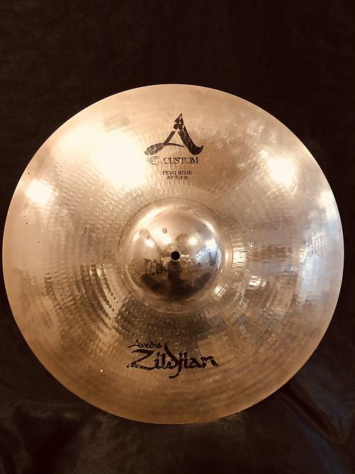 """Zildjian A Custom 20"""" Ping Ride"""