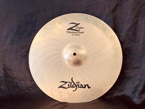 """Zildjian Z Custom 16"""" Medium Crash"""