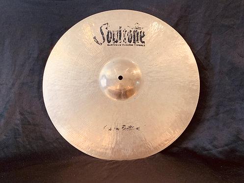 "Soultone Custom Brilliant 19""Crash"