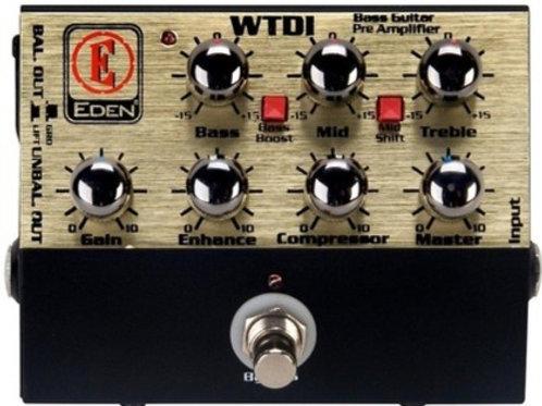 Eden WTDI Bass Guitar Pre Amplifier
